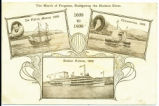 The March of Progress, Navigating the Hudson River. [front caption] (1front) [h0125ac1]