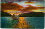 Hudson River Sunset [front caption] (1front) [h0127ac1]