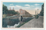 PART OF REMINGTON ARMS CO. PLANT ALONG ERIE CANAL, ILION. N. Y. [front caption] (1front) [e0548ac1]