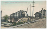 R. S. & E. R. R. Bridge across Canal and River Lyons, N. Y. [front caption] (1front) [e0536ac1]