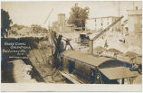 Barge Canal Operations, Baldwinsville. N.Y. [handwritten front caption] (1front) [b0049ac1]