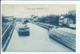 Canal Locks, Frankfort, N.Y. [front caption] (1front) [e0552ac1]