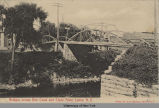 Bridges across Erie Canal and Clyde River, Lyons, N. Y. [front caption] (1front) [e0195ac1]
