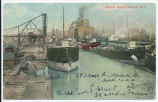 Harbor Scene, Buffalo. N. Y. [front caption] (1front) [e0498ac1]
