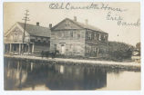 Old Canastota House - Erie Canal [handwritten front caption] (1front) [e0500ac1]