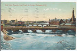 Erie Canal Aqueduct And Court St. Bridge, Rochester, N.Y.[front caption] (1front) [e0516ac1]