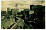 [Canal flowing through industrial area, presumably Rochester] [untitled] (1front) [e0532ac1]