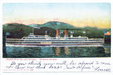 "HUDSON RIVER DAYLINE STEAMER. ""HENDRICK HUDSON."" [front caption] (1 front ) [h0115ac1]"