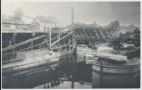 D&H Canal Basin in Honesdale. [back caption] (1front) [d0077ac1]