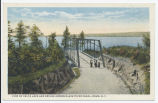 VIEW OF DELTA LAKE AND BRIDGE ACROSS BLACK RIVER CANAL, ROME, N.Y. (1front) [k0006ac1]