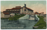 Lock No.4. Black River Canal, Rome,N.Y [front caption] (1front) [k0007ac1]
