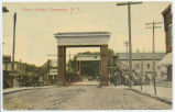 Hoist Bridge, Canastota, N.Y. [front caption] (1front) [e0060ac1]