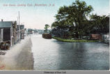 Erie Canal, Looking East, Amsterdam, N.Y. [front caption] (1front) [e0105ac1]