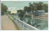 Erie Canal, Fort Plain, N.Y. [front caption] (1front) [e0589ac1]