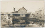 ALONG THE BLACK RIVER CANAL PORT LEYDEN N.Y. [handwritten front caption] (1front) [k0008ac1]