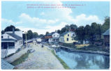 Old Delaware and Hudson Canal Lock No. 24, at Kerhonkson, N.Y.  … [portion of front caption]...
