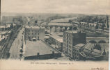 Bird's Eye View, looking south.  Rochester, N. Y. [front caption] (1front) [e0085ac1]