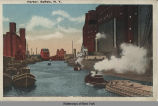 Harbor, Buffalo, N. Y. [front caption] (1 front) [e0116ac1]