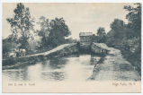 Old D. and H. Canal, High Falls, N.Y. [front caption] (1front) [d0097ac1]