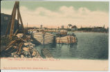 Lake Champlain Canal Boats, Rouses Point, N.Y. [front caption] (1front) [c0076ac1]