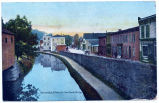 Rosendale, N.Y. Main St. from Canal Bridge [handwritten front caption] (1front) [d0102ac1]