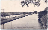 D. & H. Bridge and Canal near Schenectady, N. Y. [front caption] (1front) [e0640ac1]