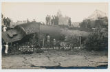 Wreck at Boonville, N.Y. Showing Bed Of Canal. No.14 July 4, 08 [handwritten front caption]...