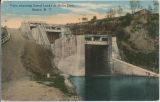View showing Canal Locks at Delta Dam. Rome, N. Y  [front caption] (1front) [b0070ac1]