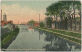 A View up the Canal from George Street, Rome, N.Y. [front caption] (1front) [e0641ac1]