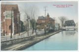 View from Liberty St. Bridge, Schenectady, N.Y. [front caption] (1front) [e0039ac1]