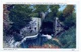 LOCKS BUILT ON BLACK RIVER CANAL WHICH EXTENDS BETWEEN ROME AND CARTHAGE, N.Y. [front caption]...