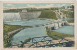 Delta Dam, Black River Canal at Aqueduct and Tripple Locks, Rome, N.Y. [front caption] (1front)...