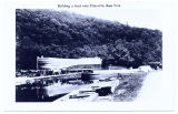 Building a boat near Ellenville, New York [front caption] (1front) [d0108ac1]