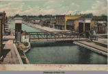 Left Bridge and Canal St, Canastota, N.Y. [front caption] (1front) [e0147ar1]