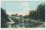 The Five Locks on the Champlain Canal, Sandy Hill, N.Y.[front caption] (1front) [c0086ac1.jpg]