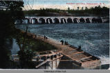 Aqueduct and Dam, Schenectady, N.Y. [front caption] (1front) [e0248ac1]