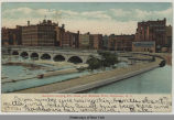 Aqueduct carrying Erie Canal over Genesee River, Rochester, N.Y. [front caption] (1front)...