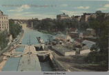 Erie Canal and N. Y. C. Bridge, Lockport, N.Y. [front caption] (1front) [e0197ac1]