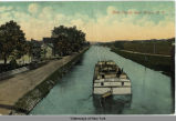 Erie Canal, near Utica, N.Y. [front caption] (1front) [e0352ac1]