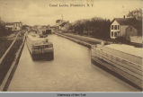 Canal Locks, Frankfort, N. Y. [front caption] (1front) [e0395ac1]