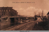 Canal Bridge at Brutus St., Weedsport, N. Y. [front caption] (1front) [e0314ac1]