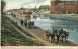 Scene along the Erie Canal at Buffalo, N.Y. [front caption] [e0006ac compound object]