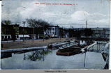 Erie Canal Locks at 23rd St., Watervliet, N.Y. [front caption] (1front) [e0253ac1]