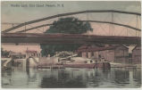 Middle Lock, Erie Canal. Newark, N.Y. [front caption] (1front) [e215ac1]