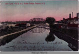 Erie Canal - R. Sy. & E. Trolley Bridge, Fairport, N. Y. [front caption] (1front) [e0288ac1]