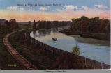 Seneca and Cayuga Canal, Seneca Falls, N. Y. [front caption] (1front) [s0002ac1]