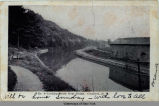 Looking South from Bridge, Comstock, N.Y.  [front caption] (1front) [e0143ac1]