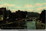Canal Locks, Nos. 13 and 14, Cohoes, N.Y. [front caption] (1front) [e0142ac1]