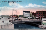 Big Bridge, (Widest Bridge in the World), Lockport, N. Y.  [front caption] (1front) [e0318ac1]