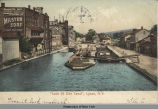 """Lock 55 Erie Canal"", Lyons, N.Y.  [front caption] (1front) [e0378ac1]"